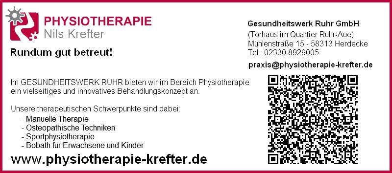 Physiotherapie Nils Krefter - Rundum gut betreut!